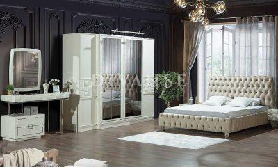 Jaguar Beyaz Yatak Odası