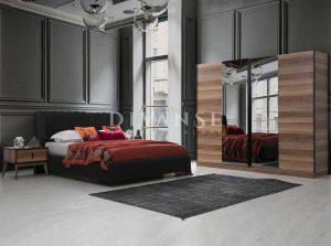oslo ceviz yatak odası