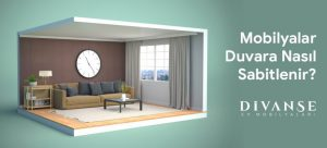 mobilyalar duvara nasıl sabitlenir