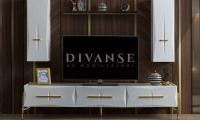 felix beyaz tv ünitesi