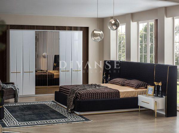 felix beyaz yatak odası