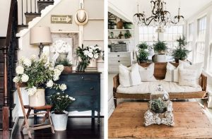 Rustik Ev Dekorasyonunda Bitkilerin Kullanımı